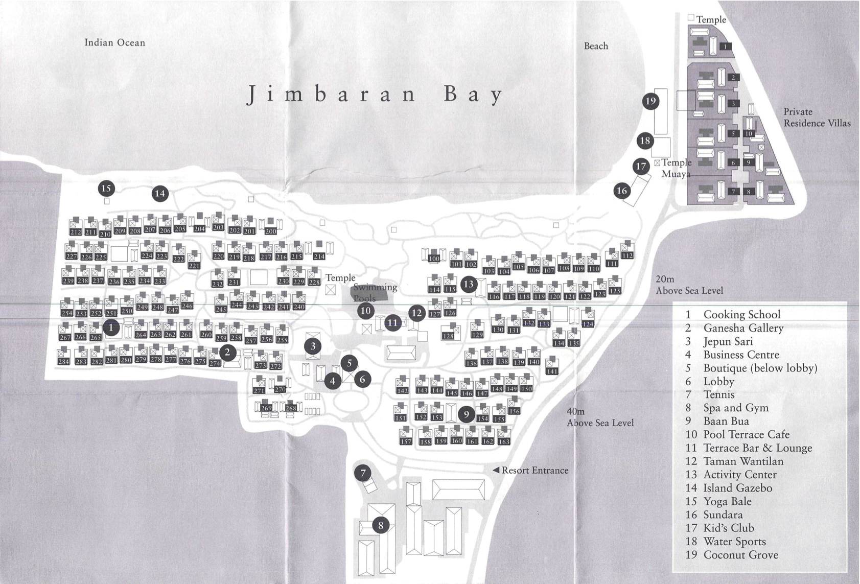 Fs Jimbaran Bay Hotel Vs Residences Page 2 Flyertalk Forums Voucher Resort Bali Four Seasons Resorts At Sayan The Map Also Shows New Sundara Restaurant And Other Changes To
